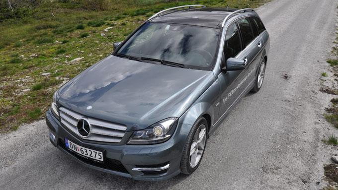 broom - biltest - 2012 mercedes-benz c-klasse c200t cdi avantgarde